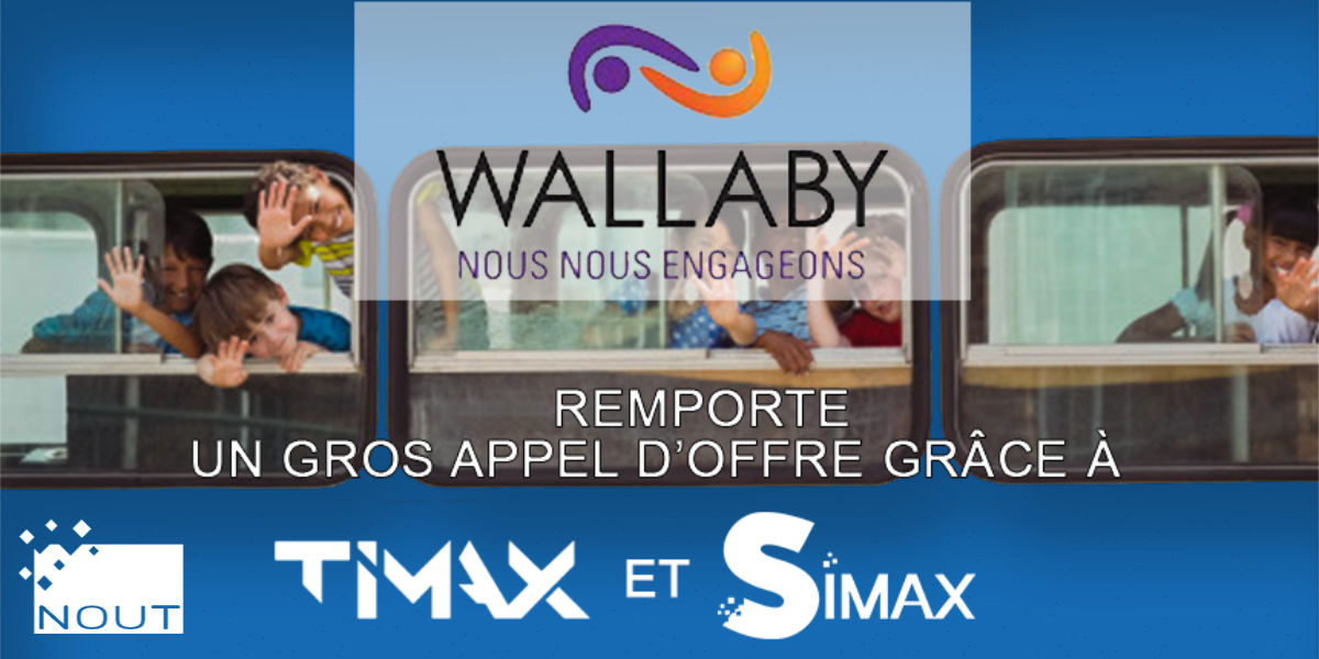 Wallaby, Success-story avec TIMAX™ et SIMAX™