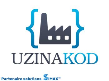 Uzinakod un partenaire de SIMAX l'ERP CRM le plus adaptable du marché