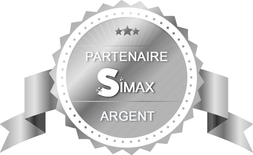 NOUT - SIMAX - Ecusson Certification Partenaire ARGENT